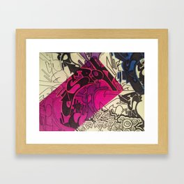 Spoke2 Framed Art Print