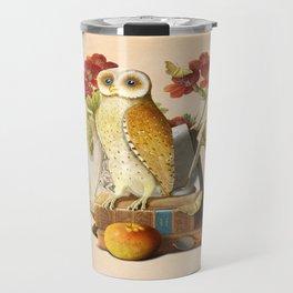 Apprentice Owl Travel Mug