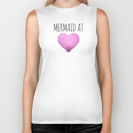 Mermaid At Heart Biker Tank