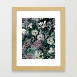Floral Camouflage VSF016 Framed Art Print