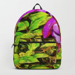 Miss Popple. (Painting) Backpack
