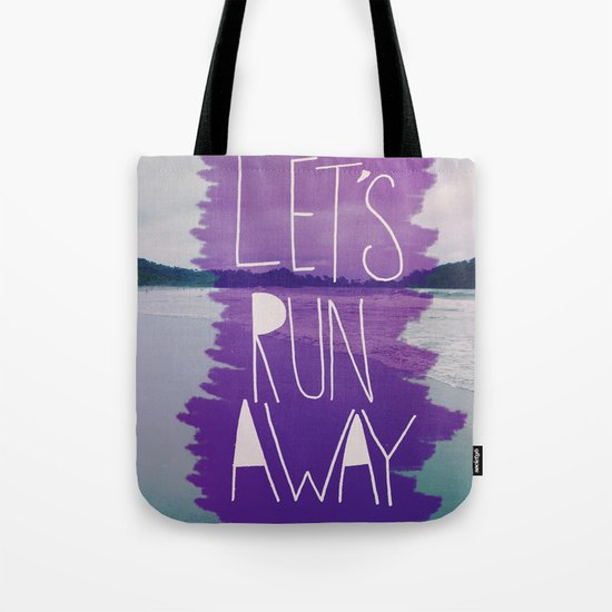 Let's Run Away: Manuel Antonio, Costa Rica Tote Bag