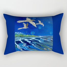 Long-Tailed Cuckoo & The Explorers Rectangular Pillow