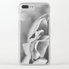peonies [ruffle] 07 Clear iPhone Case