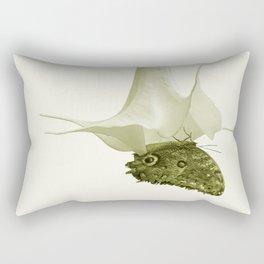 Monochrome - At the butterfly ball Rectangular Pillow