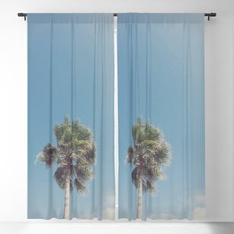Lone Palm Blackout Curtain