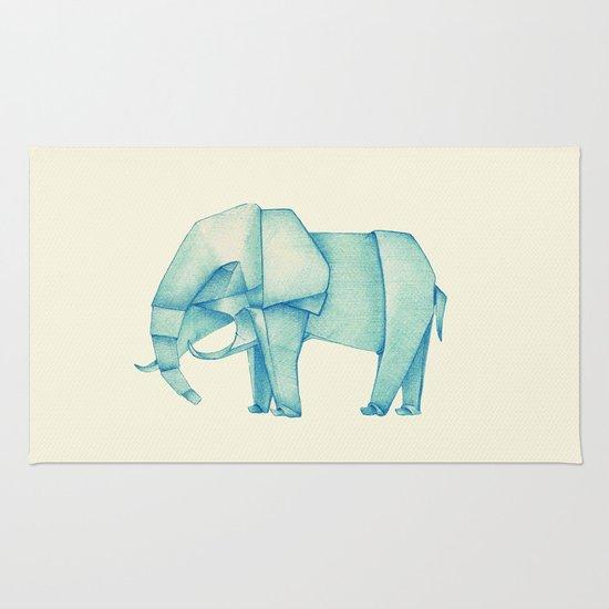 Paper Elephant Rug