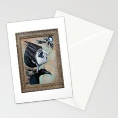 raven witch Stationery Cards
