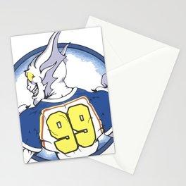 Beast Hockey Logo #99 Stationery Cards