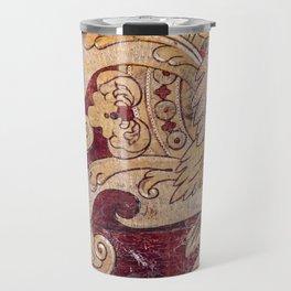 Venetian Wall Art - Flower Vase Travel Mug