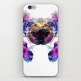 Condescending Bearded Dragon Conquers Confused Mariners At Midnight iPhone Skin