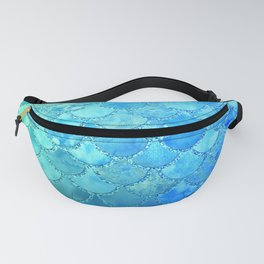 Summer Dream Colorful Trendy Mermaid Scales Fanny Pack