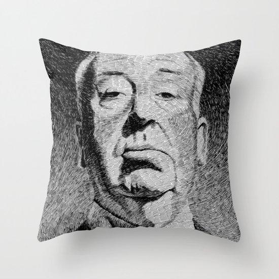 Fingerprint - Hitchcock Throw Pillow