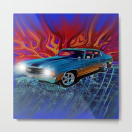 72 Chevy Chevelle SS Metal Print