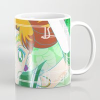 sailor jupiter Mugs featuring Sailor Jupiter  by Neo Crystal Tokyo