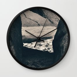 This Way Wall Clock