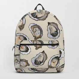 Oysters by the Dozen in Cream Backpack