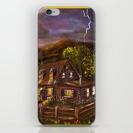 "Ave Hurley ""Camp Verde"" iPhone Skin"