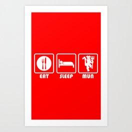 ESP: Red Devils Art Print