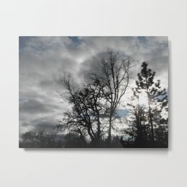 Gold Country Sunsets 2 Metal Print
