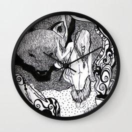 Bear Bride Wall Clock