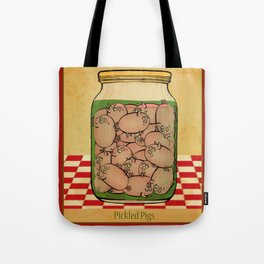 Pickled Pig Revisited Tote Bag