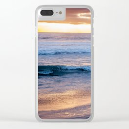 Encinitas Sunset Clear iPhone Case