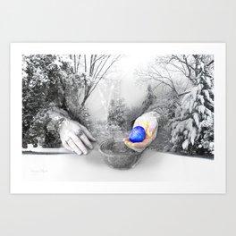 The Universal Egg Art Print