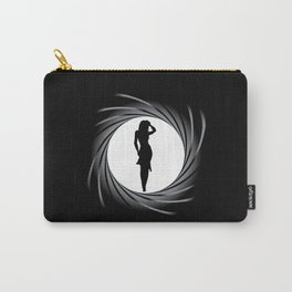 Girl In The Sights Carry-All Pouch