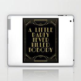 A little party - black glitz Laptop & iPad Skin