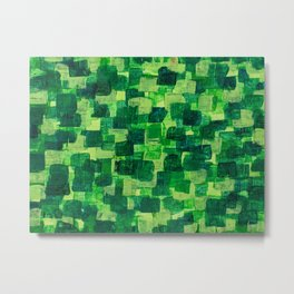 Jade Scales Metal Print