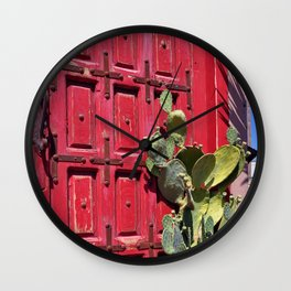 who's there? Wall Clock