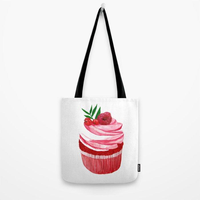 Red velvet cupcake Tote Bag