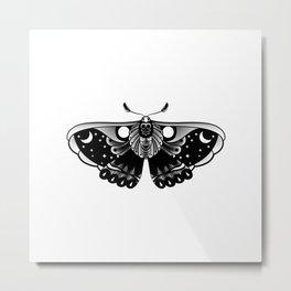 Oh My Moth Metal Print