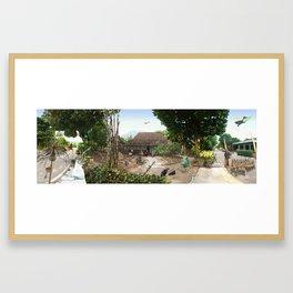 NYONYA JAWA (根) Framed Art Print