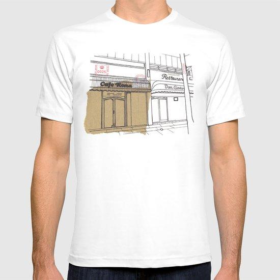 Cafe Roma. T-shirt