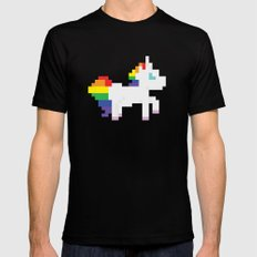 Unicorn Black X-LARGE Mens Fitted Tee