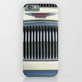 White Austin Healey 3000 iPhone Case