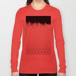 Christmas Geometric Pattern Long Sleeve T-shirt
