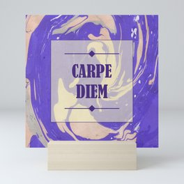 CARPE DIEM Mini Art Print