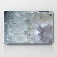 geode iPad Cases featuring Agate Geode  by CAROL HU
