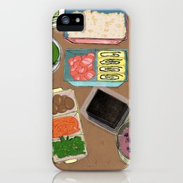 Lunch Box Memories iPhone Case