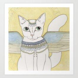 Blanka Cat Fairy Art Print