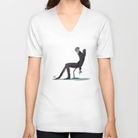 harry V-neck T-shirts featuring Harry by Galaxyspeaking