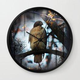 A Hawks Dream Wall Clock