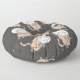 Cat-Stronauts Floor Pillow