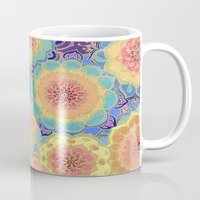 purple Mugs featuring Obsession by micklyn