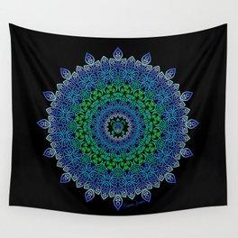 Tara's Tribal Turtle Mandala Wall Tapestry