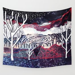 Night Travels revisited Wall Tapestry
