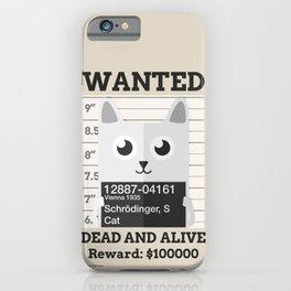 Schrödingers Cat iPhone Case